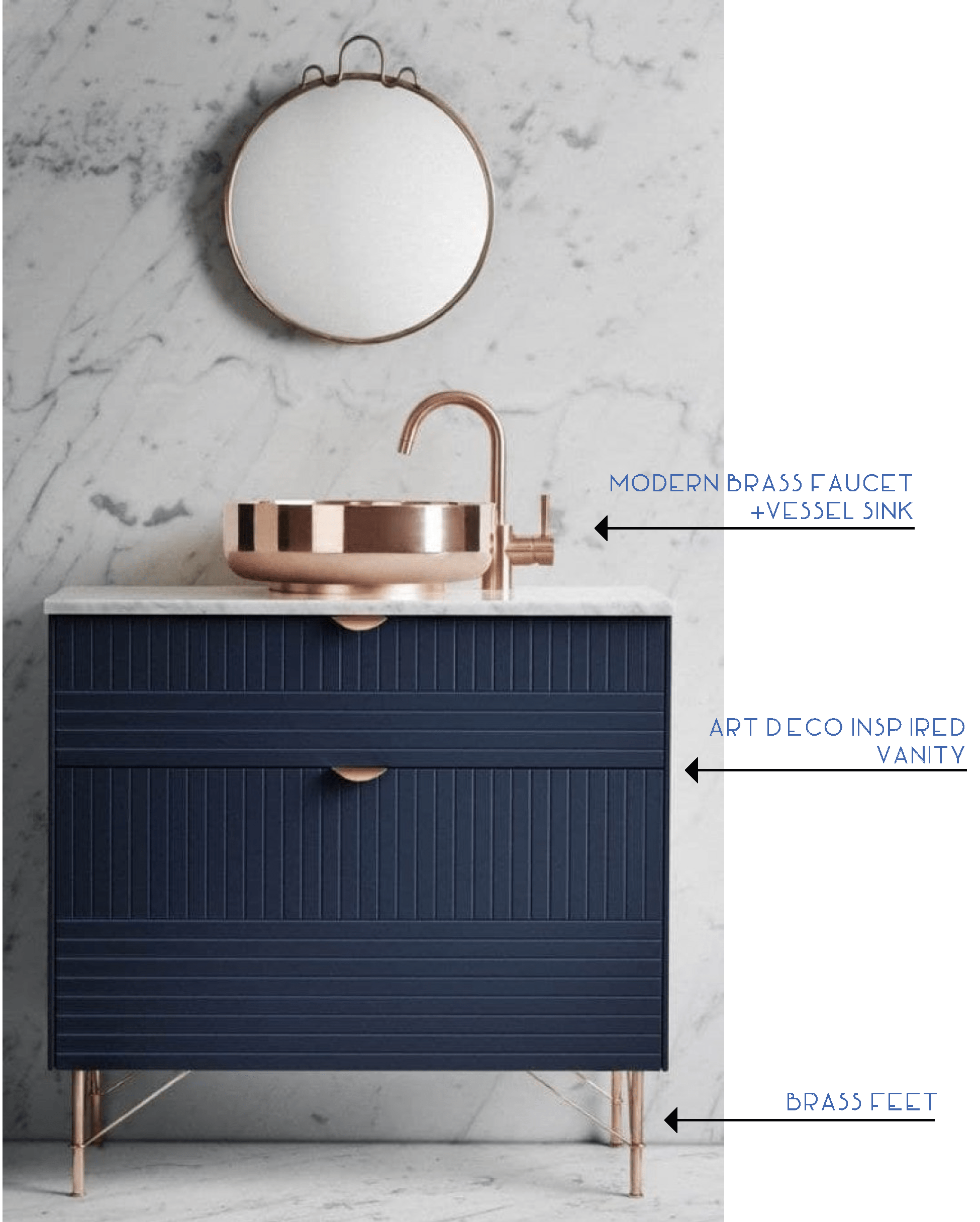 Discovering Your Bathroom Vanity Spirit Animal Art Deco Bathroom Vanity Bathroom Remodel Designs Small Bathroom Remodel Cost