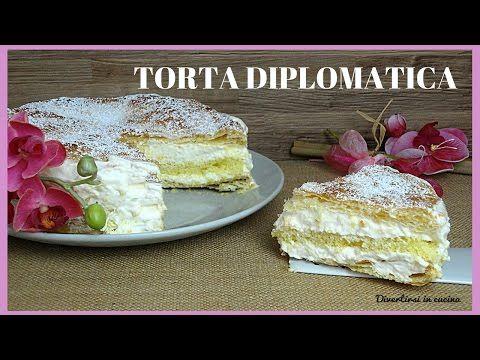Torta diplomatica : Ricetta FACILE | Divertirsi in cucina - YouTube
