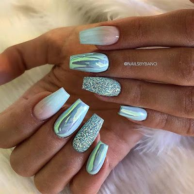 21 elegant nail art ideas for coffin nails to try this