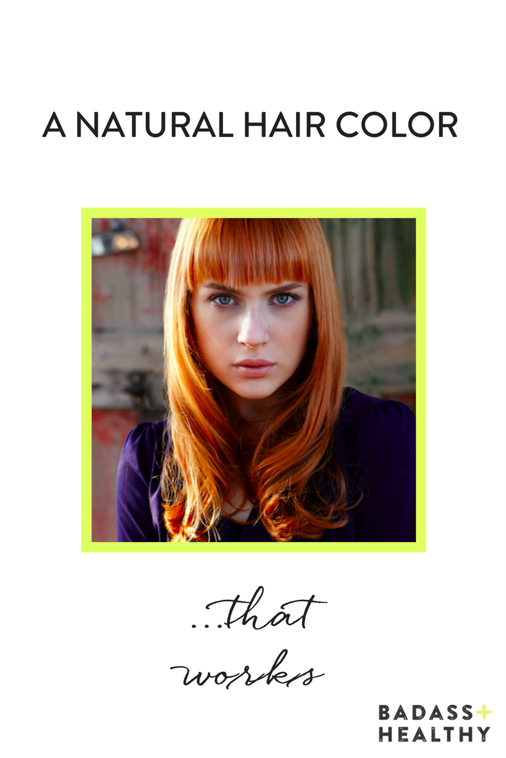 This Professional Natural Hair Color Doesnt Smell Nasty And Is Made