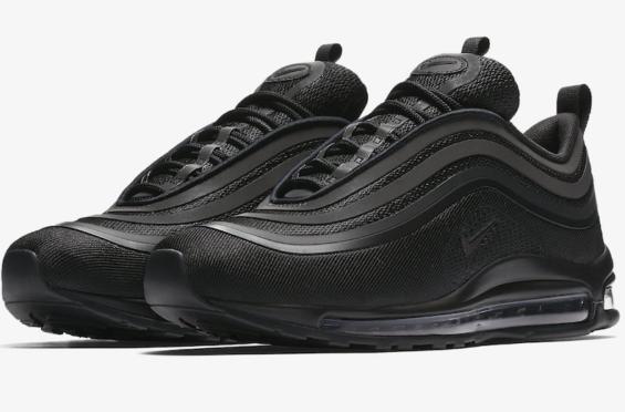 Release Date: Nike Air Max 97 Ultra Triple Black • KicksOnFire.com ...