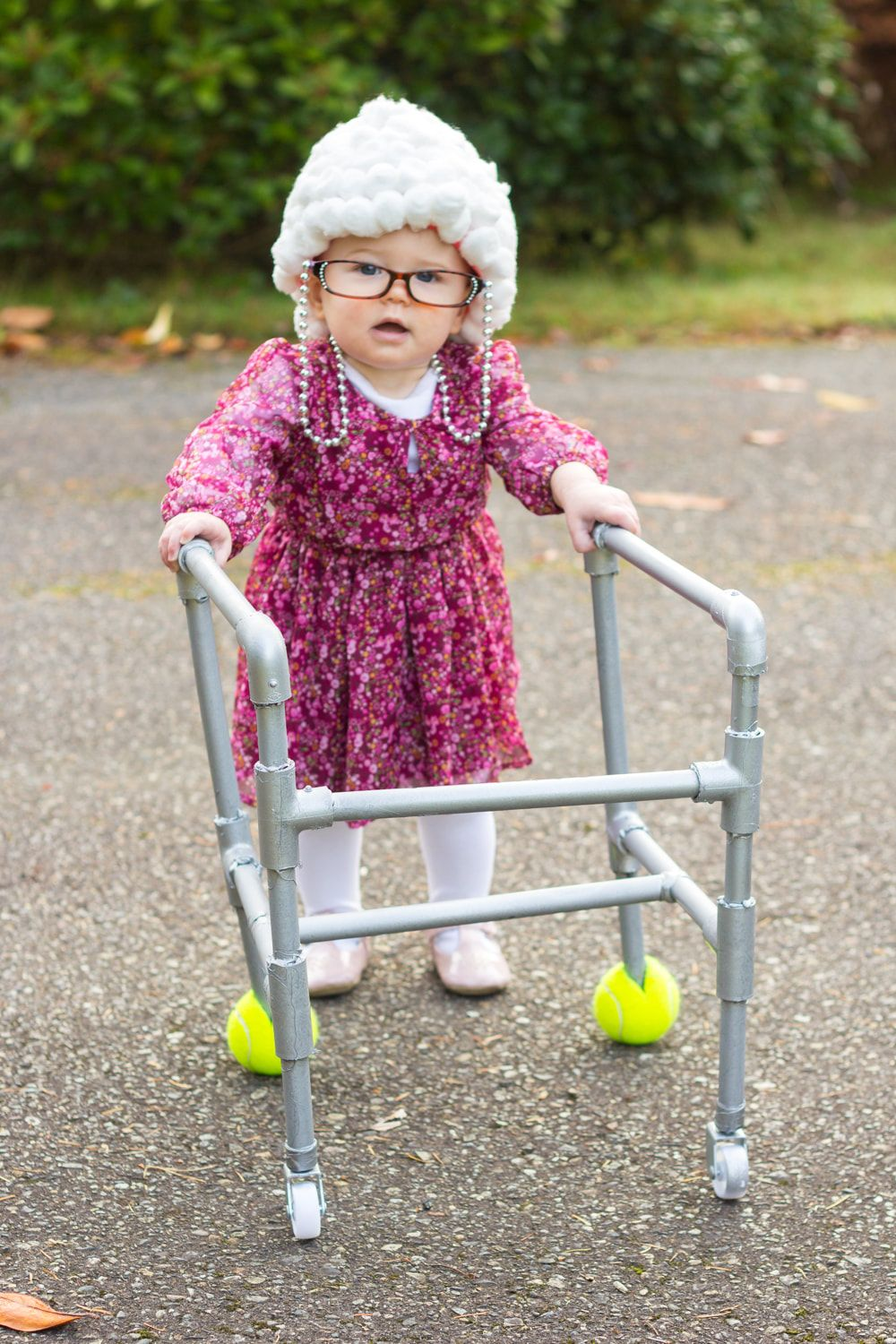Kids Grandma Halloween Costumes 2020 Old lady costume for a toddler or baby! So CUTE. | Old lady