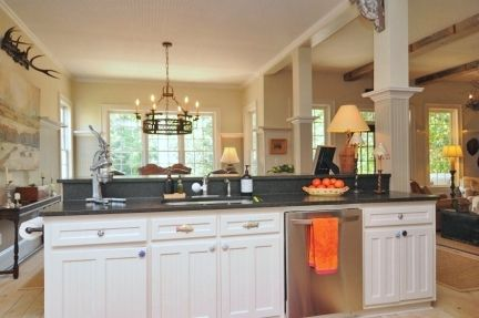 Our Kitchen Countertops Are Black Granite Honed And Aged. It Looks Like  Soapstone And Is Virtually Maintenance Free. You Donu0027t See Fingerprints, ...