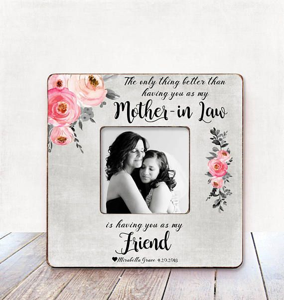 Mother in law wedding gift from bride mother of he groom gift from ...
