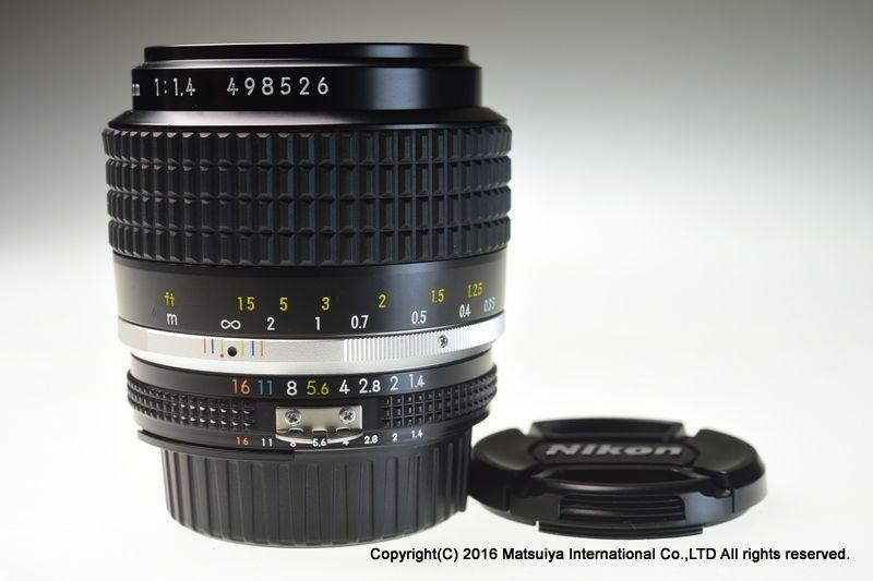Nikon Ai S Nikkor 35mm F 1 4 Excellent Nikon Nikon 35mm Photography Gear Nikon