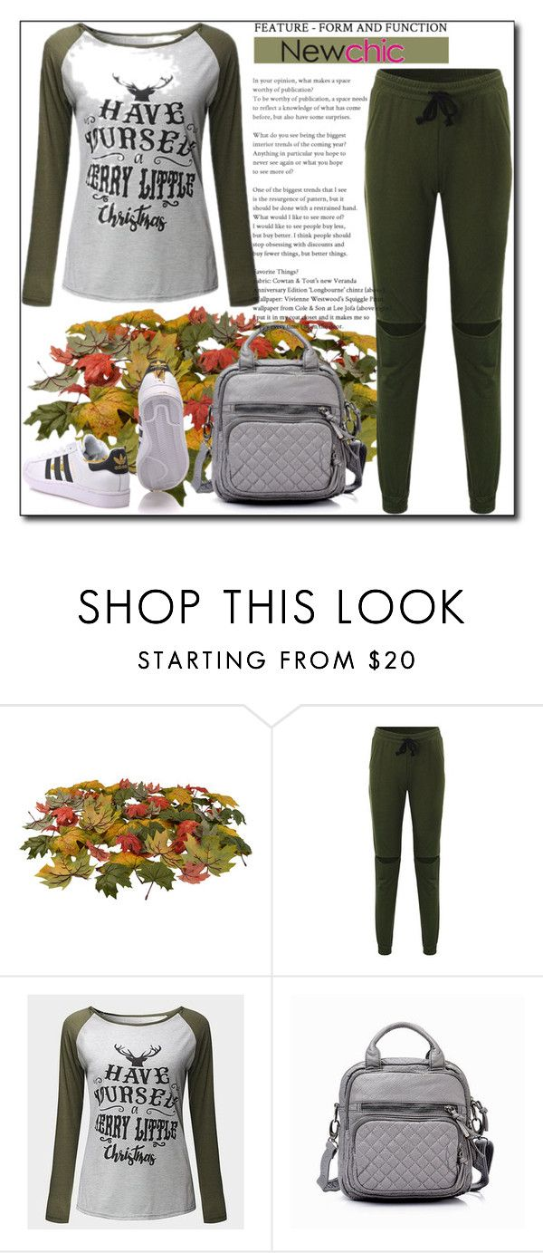 """""""NewChic 25."""" by emina136 ❤ liked on Polyvore featuring adidas Originals"""