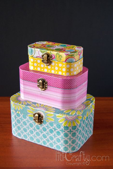 DIY Mod Podge Wooden Jewelry Boxes Diy mod podge Wooden jewelry