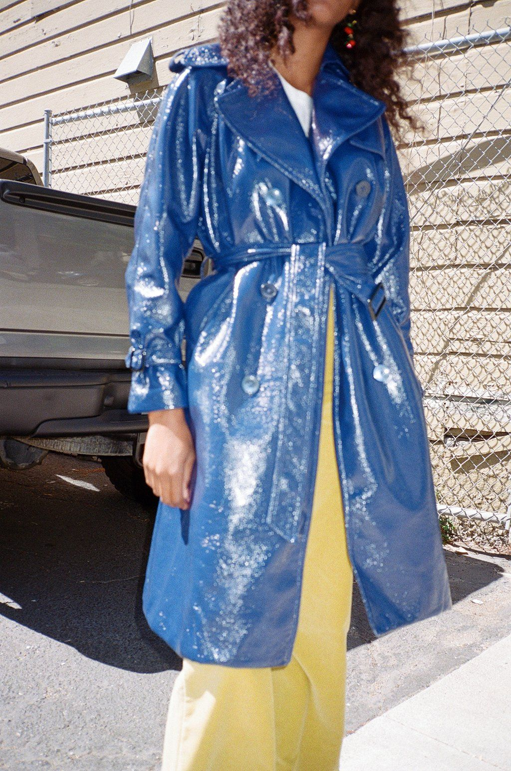 Jane Trench Coat Navy Vinyl Outfit Inspirations Trench Coat Beautiful Coat