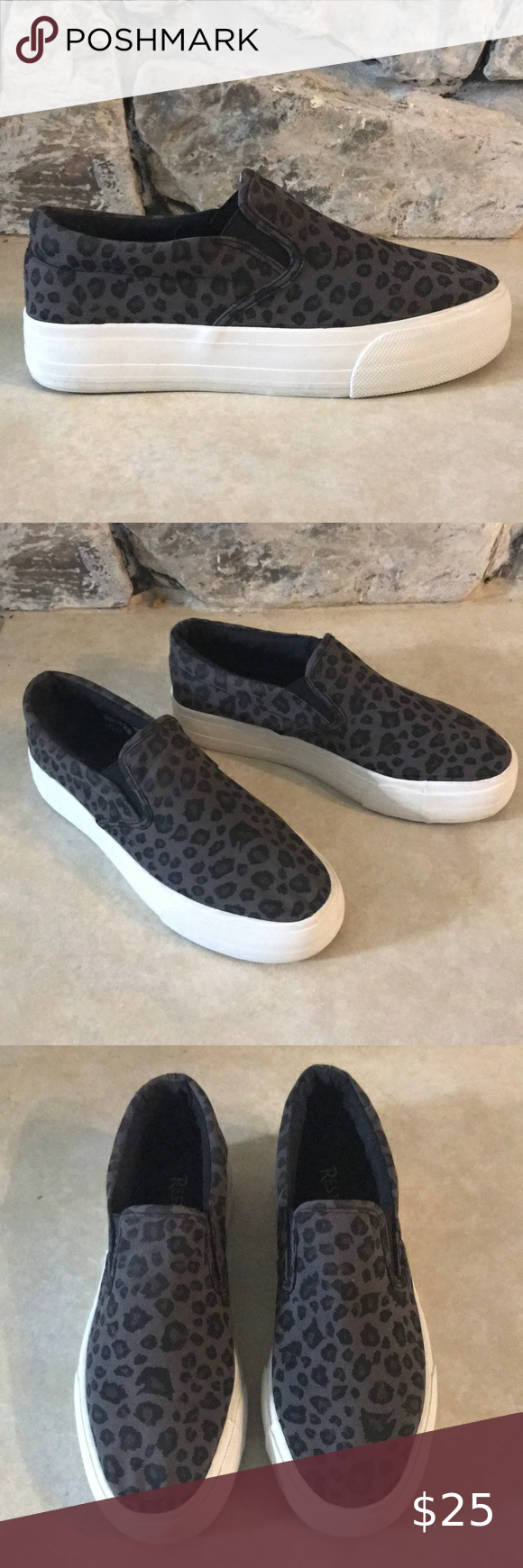 Restricted Slip On Sneakers Size 6.5 in
