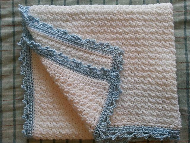 FREE!! Ravelry: \'No Holes\' Baby Blanket pattern by Linda Davie ...