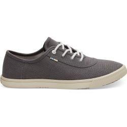 Toms Schuhe Graue Canvas Carmel Sneakers Für Damen – Größe 38 TomsToms