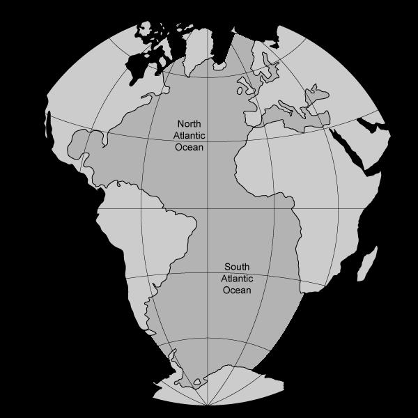 Map Of The Atlantic Ocean Water Cycle Units Pinterest Ocean