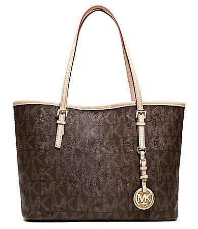 0b9b503792276d MICHAEL Michael Kors Small Jet Set Logo Tote #Dillards Buy Handbags Online,  Handbag Stores