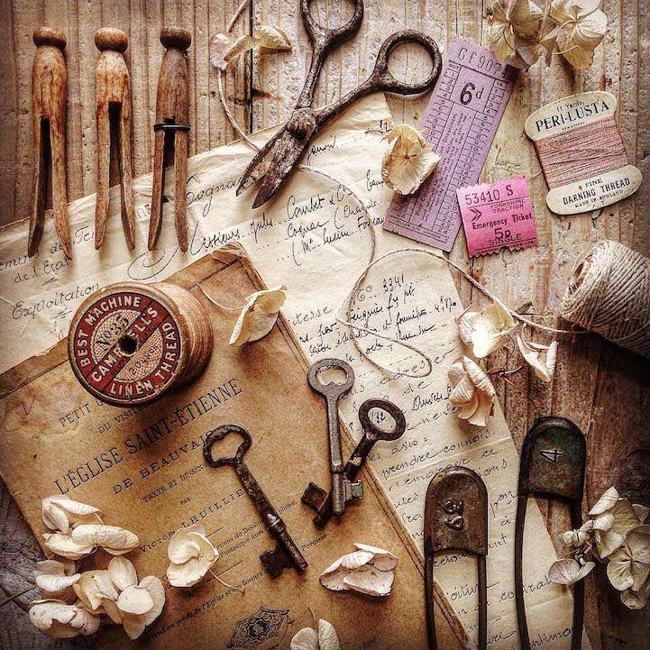 Artist Commemorates The History Behind Her Father S Vintage Tools Instagram Blog Vintage Items Vintage