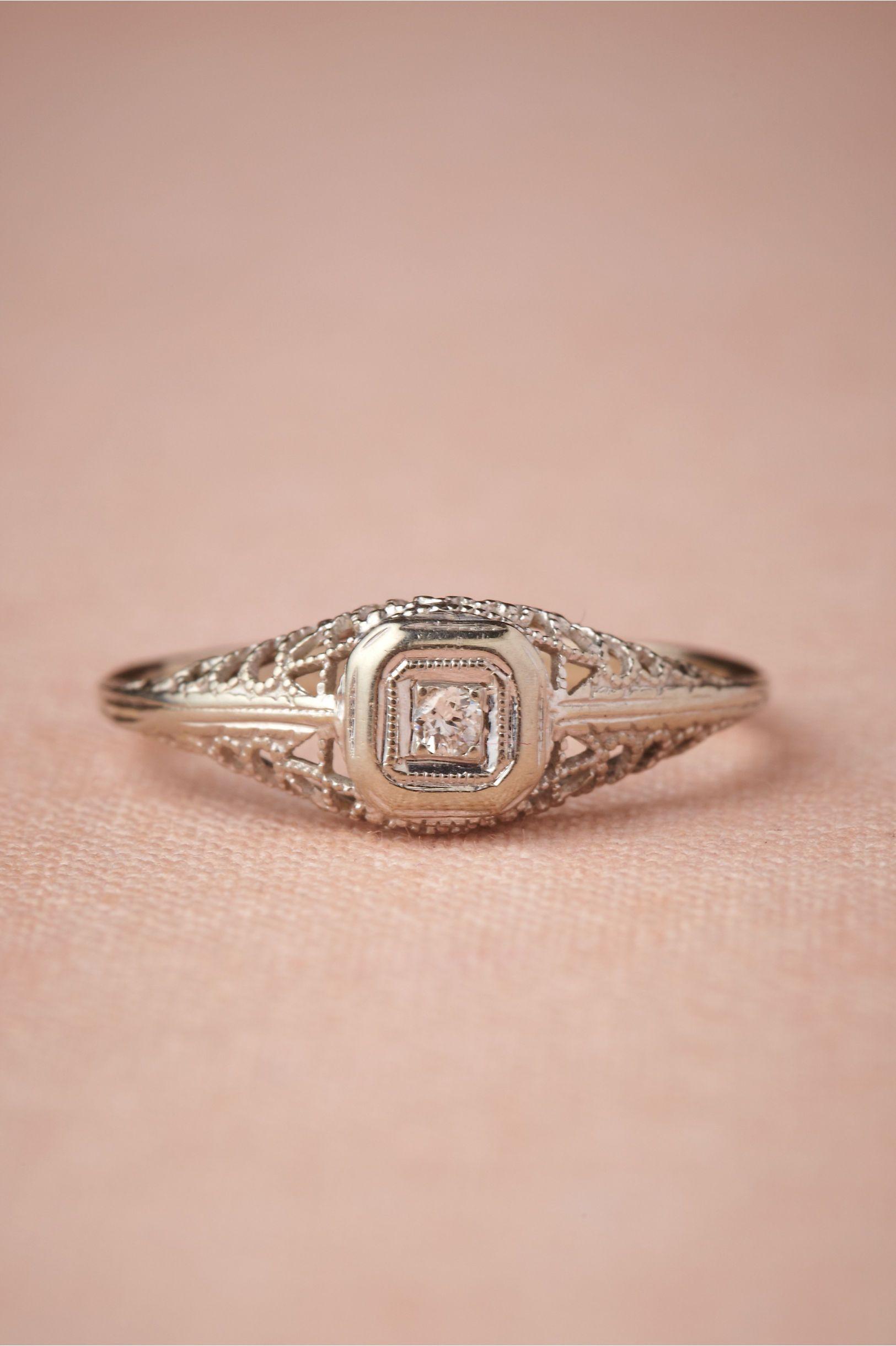 Lyrical Framework Ring in SHOP The Bride Bridal Jewelry at BHLDN ...