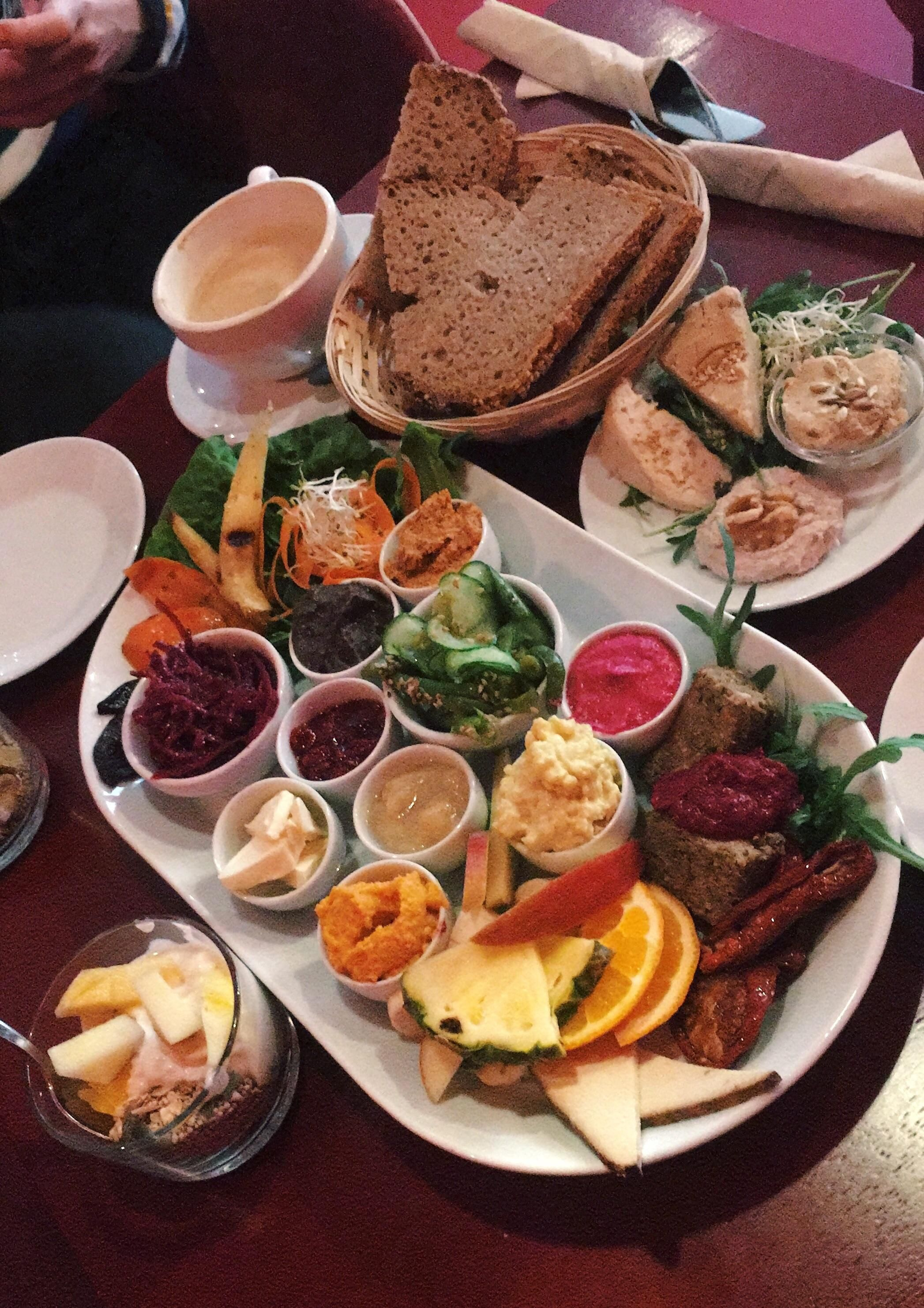 Colorful And Delicious Vegan Brunch Funny To Think That I