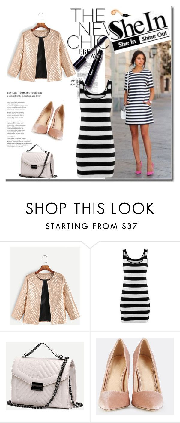 """""""SheIn 8/VIII"""" by nermina-okanovic ❤ liked on Polyvore featuring shein"""