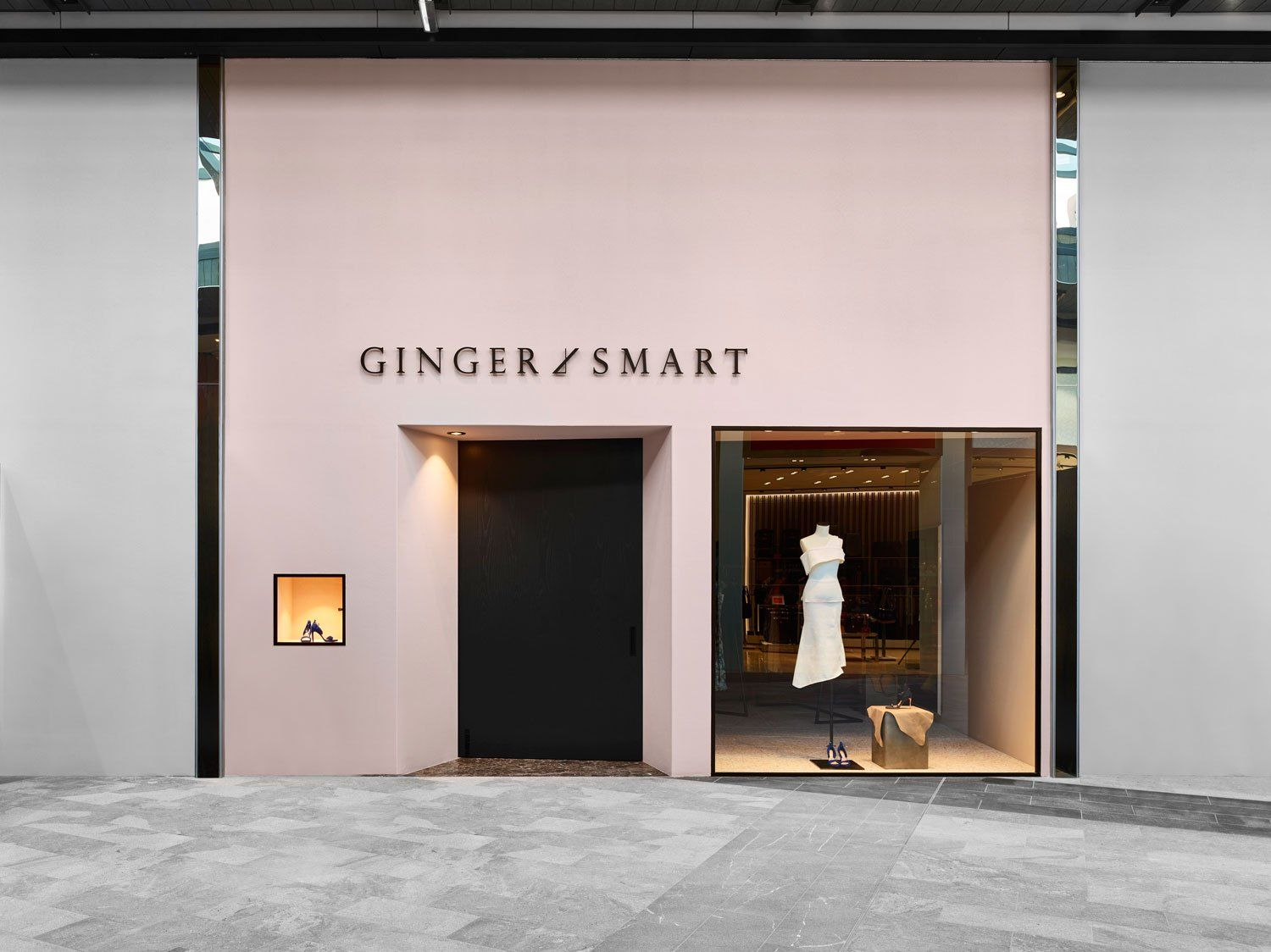 Flack Studios New Retail Concept For Ginger Smart