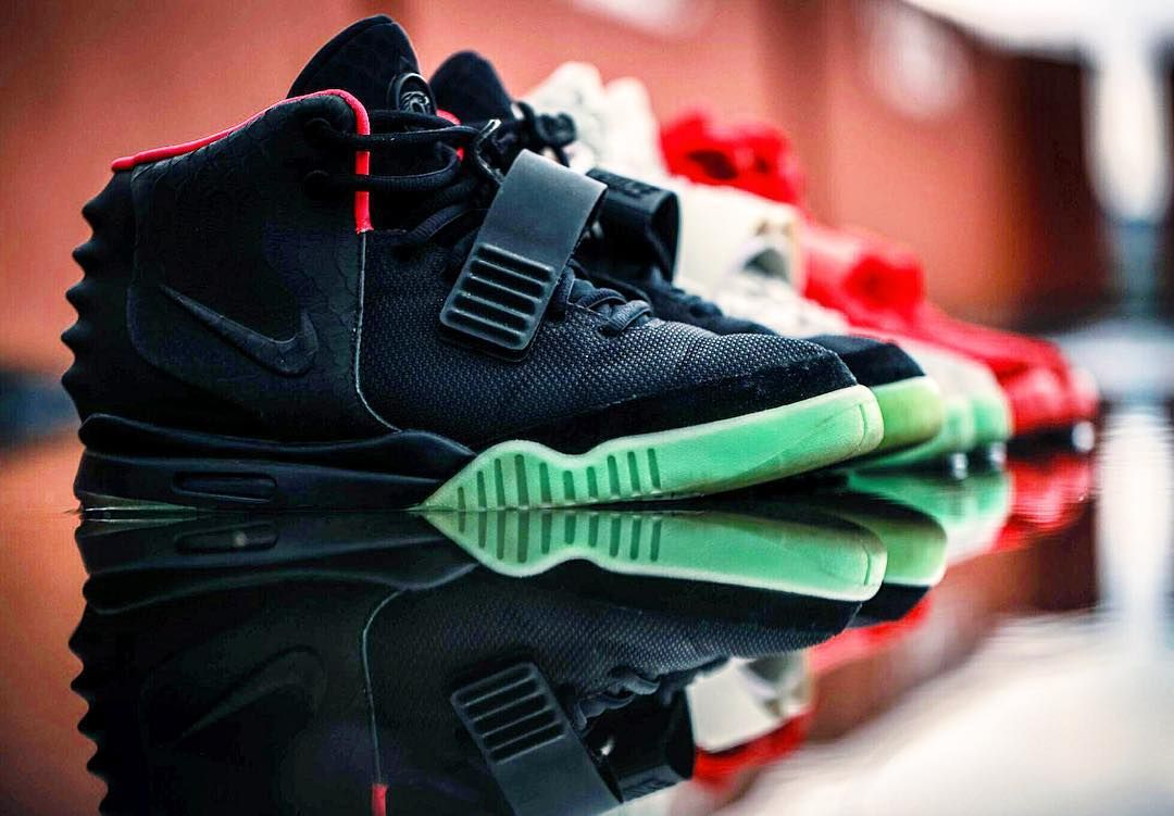 7a3359c0d5e75 Nike Air Yeezy 2s w  my brother  selesneaker  nike  yeezy  yeezy2 ...
