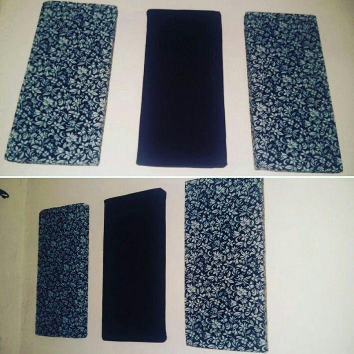 Diy Fabric Wall Art Using Old Clothes And Styrofoam Repurpose Diy