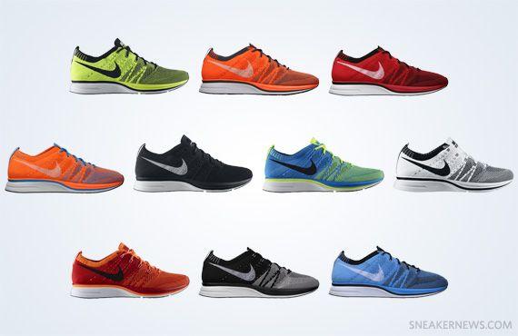 Nike Flyknit Trainers. Super light, super fast, super cool