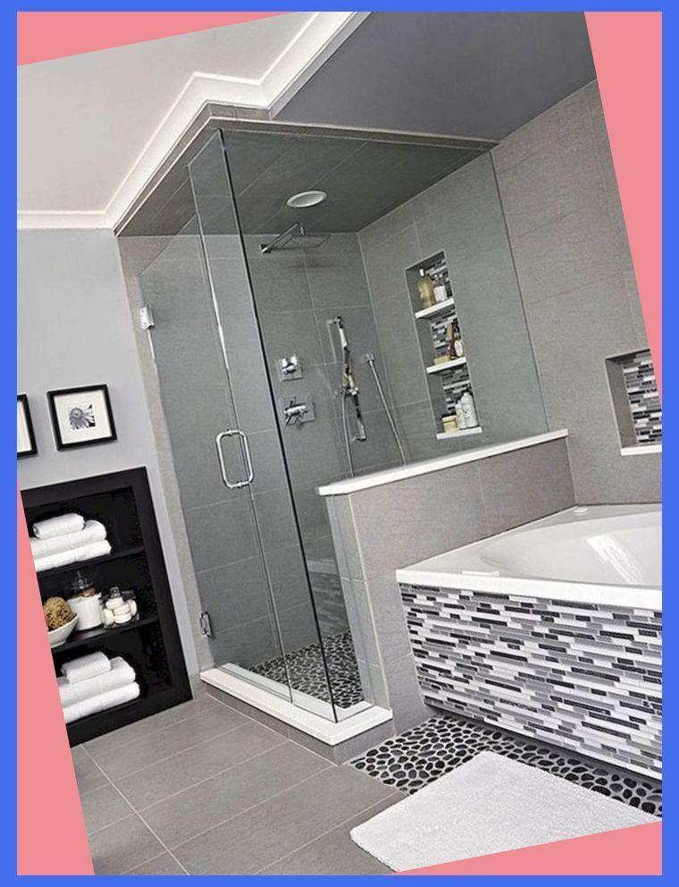 80 Amazing Master Bathroom Decor Ideas And Remodel Modern Master Bathroom Ideas Master Bathroom Decor Modern Master Bathroom Luxury Bathroom Master Baths