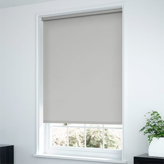 Sevilla Blackout Grey Roller Blind (With Images)