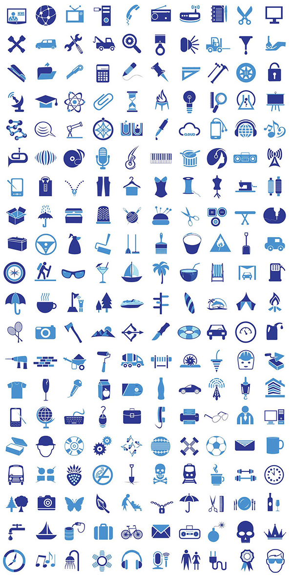 3 Awesome Vector Icon Sets Vector icons, Icon set