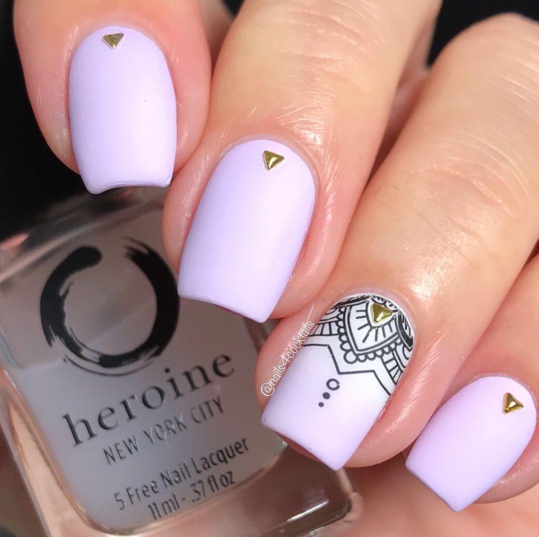 Her Matte Jesty Matte Topcoat Short Acrylic Nails Designs Henna Nails Cute Acrylic Nail Designs