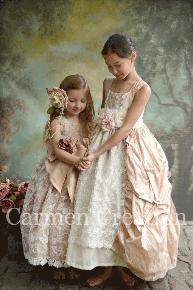 Couture Flower Girl Dress. $275.00, via Etsy. | Girls Clothes ...