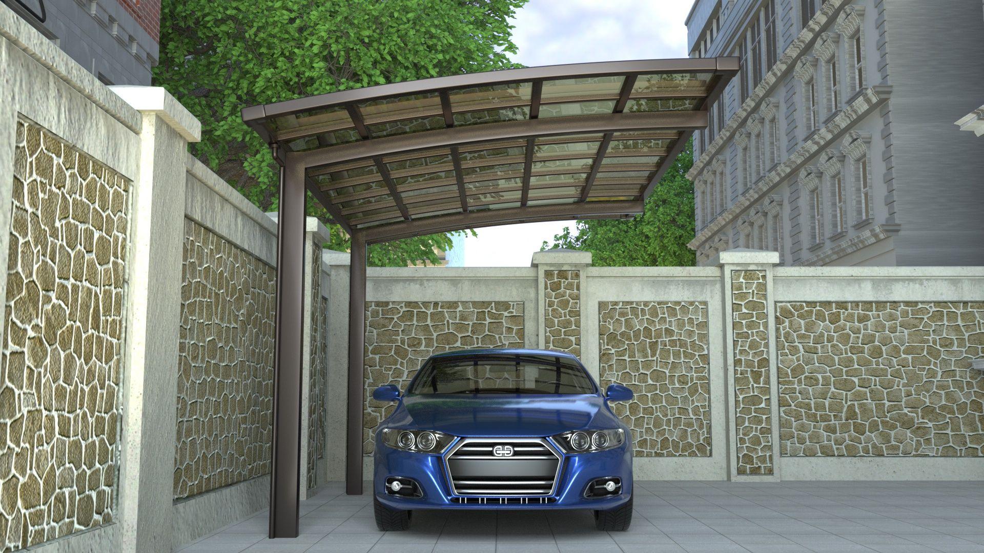 Cantilever Single Carport Living Space Carport designs