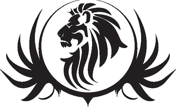 Lion Black And White Lion Face Clipart Black And White Lion Clipart Lion Silhouette Black And White Lion