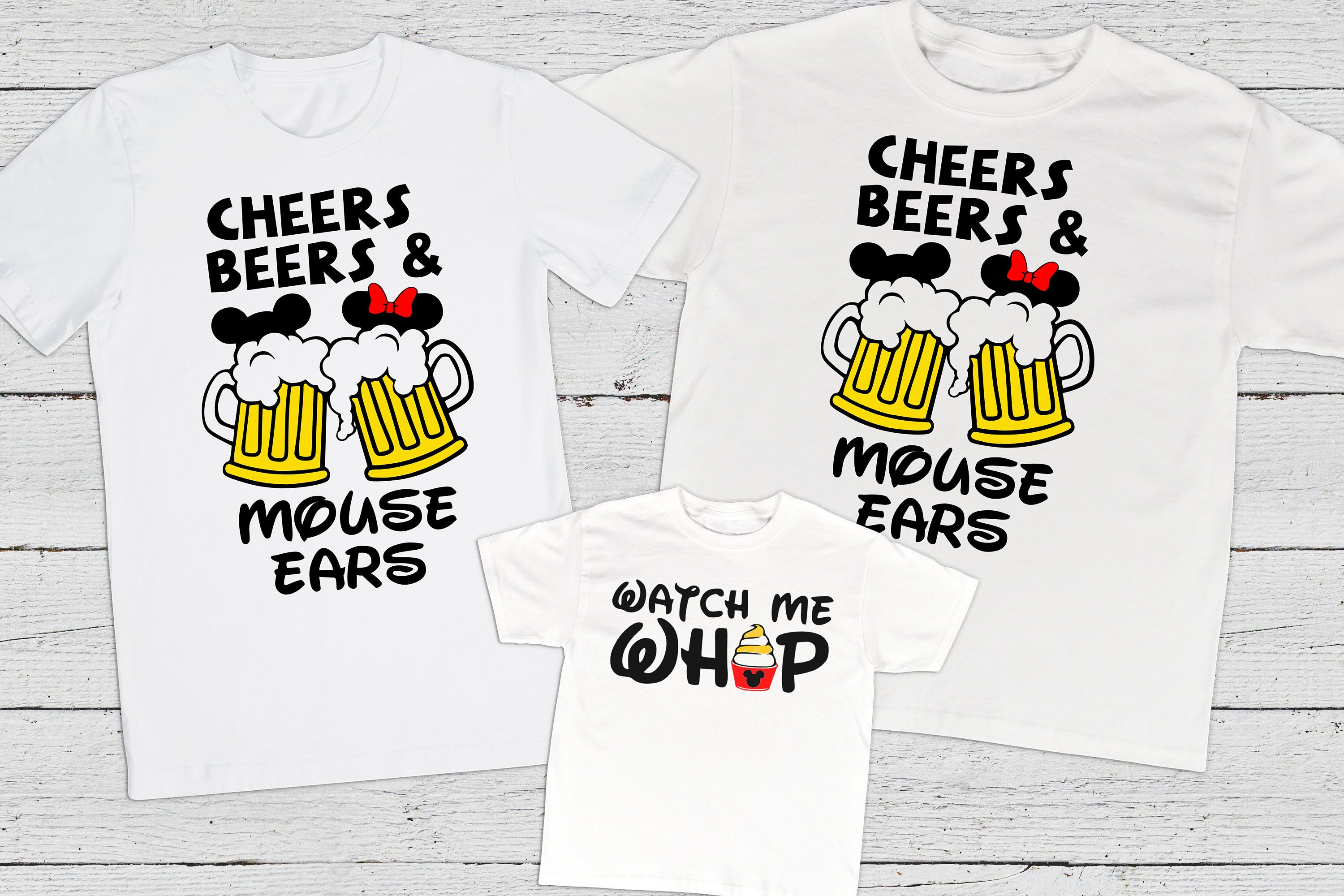 ee716632c ON SALE Disney Matching Shirts Disney Cheers Beers Shirt | Etsy ...