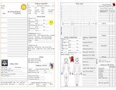 Great way to track your pain symptoms with a daily diary