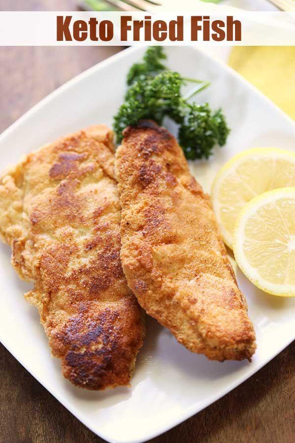 Low Carb & Keto Fried Fish | Healthy Recipes Blog