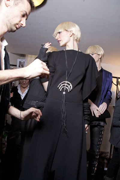 Krizia Fall 2011 - Backstage