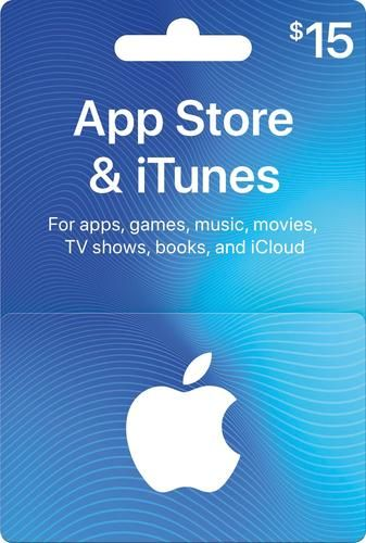 Photo of Apple App Store and iTunes Gift Card worth $ 15