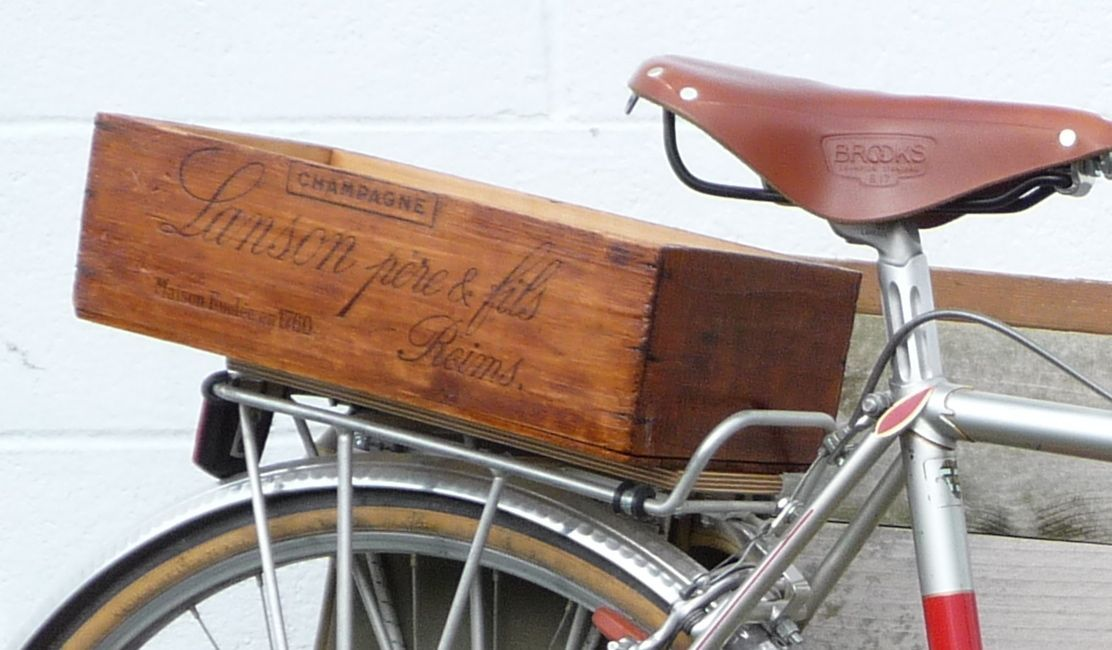 Wood Bike Box To Note Crates Wooden Wine Boxes Vintage Picnic