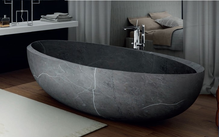 High Quality Solid Oval Marble Stone Bathtub For Sale , Find ...