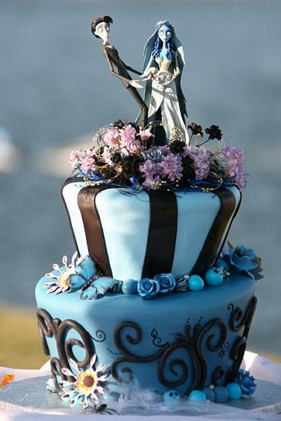 Corpse Bride Wedding Cake Wicked Wedding Cakes Pinterest - Wicked Wedding Cakes