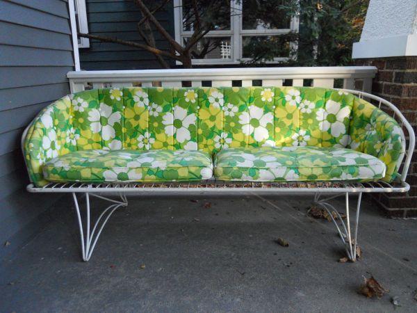 Vintage Homecrest Sofa Patio Furniture Retro Patio Furniture