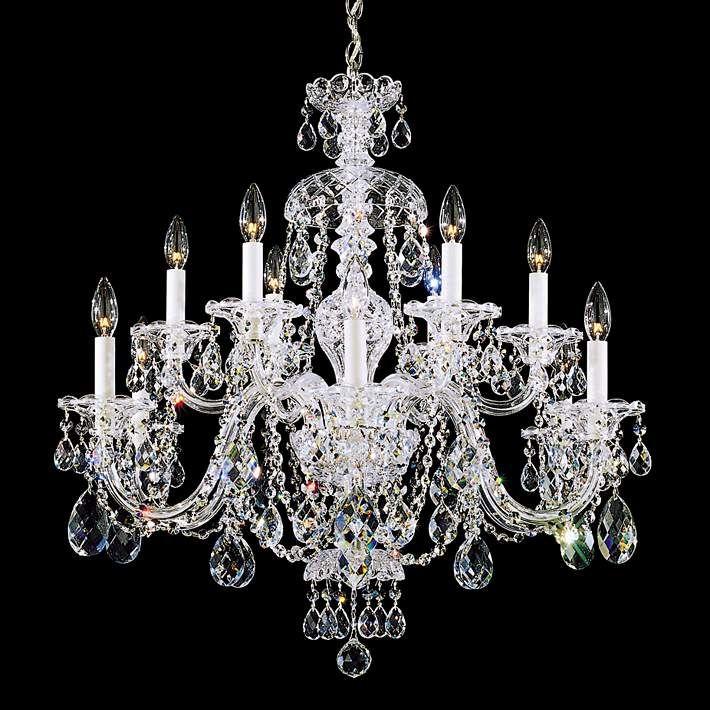 Schonbek sterling 29w swarovski crystal 12 light chandelier design your own schonbek sterling 29w swarovski crystal 12 light chandelier aloadofball Gallery