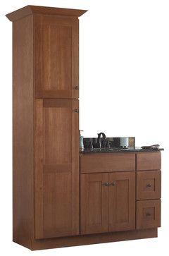 contemporary bathroom vanities 36 inch jsi cabinetry sturbridge 36