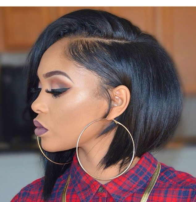 Chanelle X Rosegold Short Hair Styles For Round Faces Black