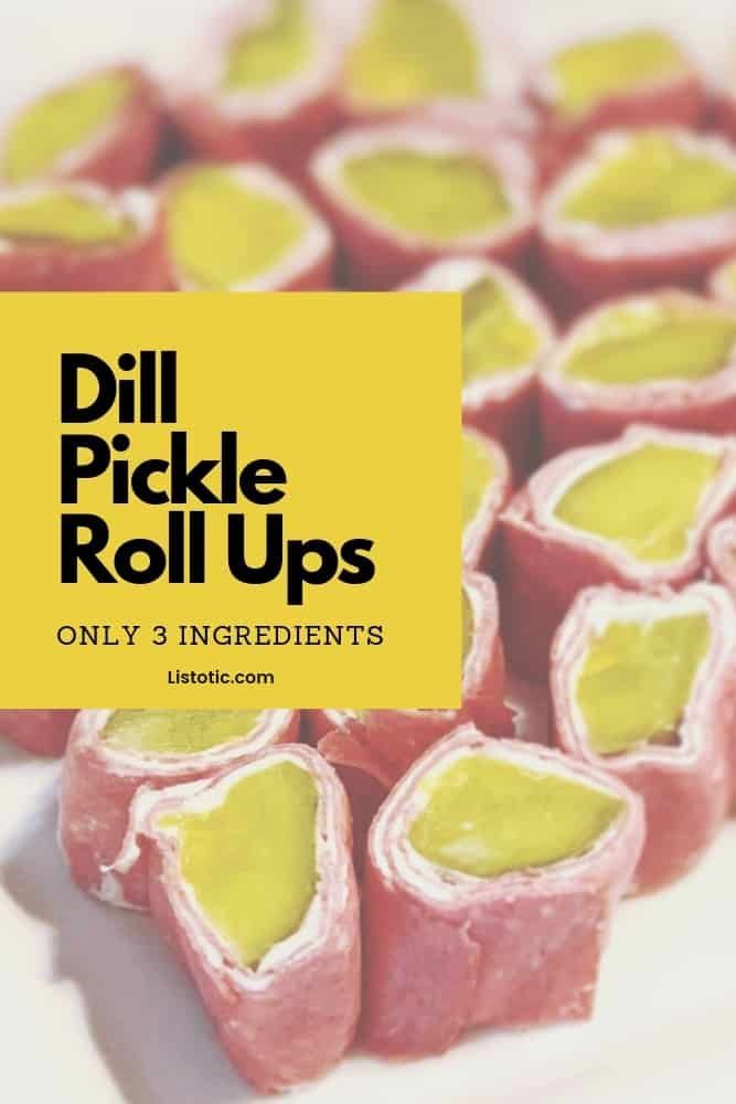 Photo of Ultimate Easy Dill Pickle Roll Ups Recipe ⋆ Listotic
