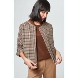 Photo of Jacket in black and beige checkered windsor