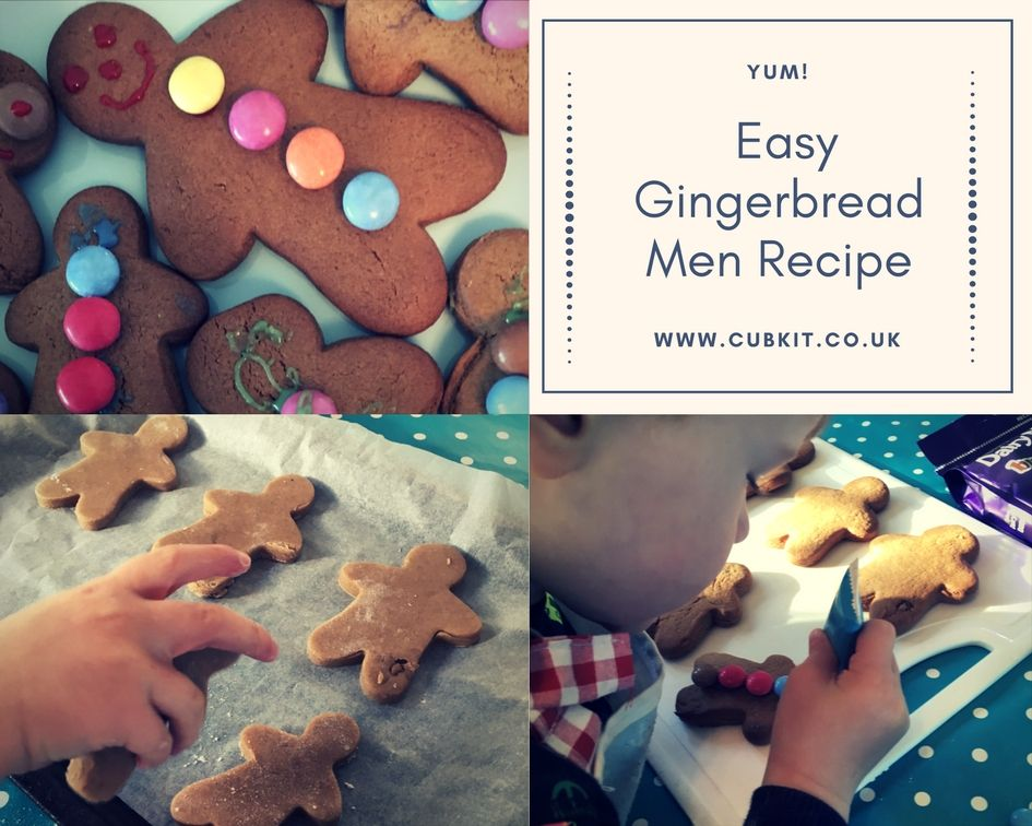 Easy Gingerbread Men Recipe Easy gingerbread man recipe