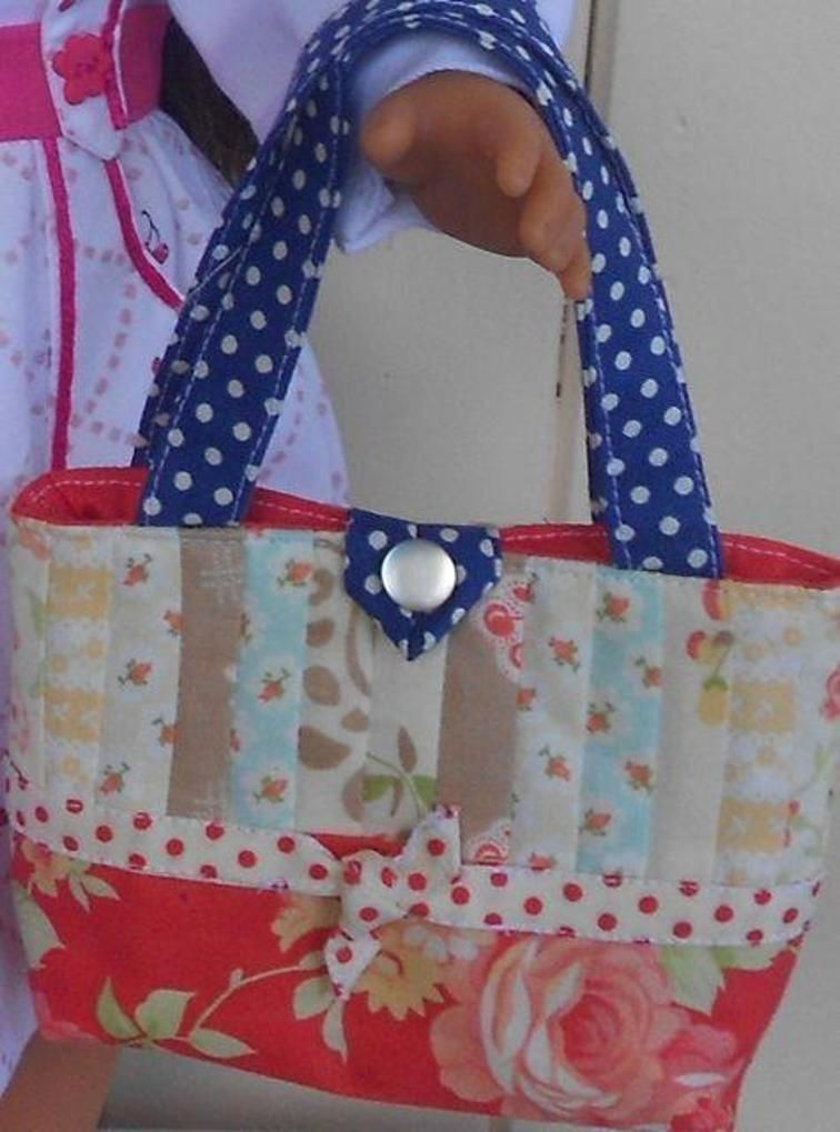 Doll Tote Bag | Craftsy | DIY and crafts | Pinterest | Tote bag ...