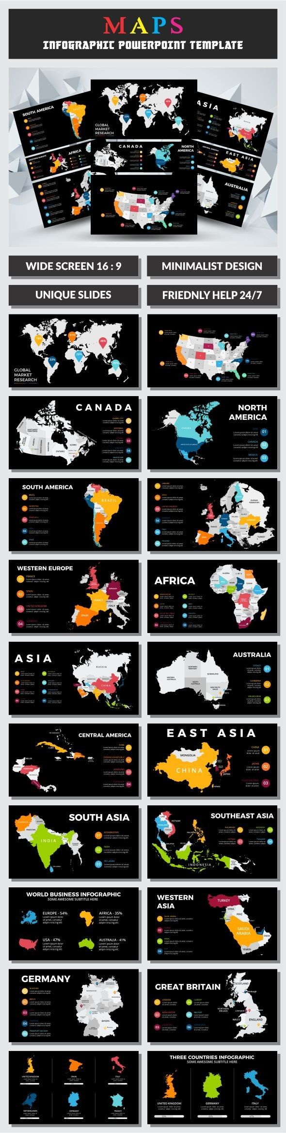 Maps infographic powerpoint template infographic buy maps and maps infographic powerpoint template infographic buy maps and template toneelgroepblik Choice Image