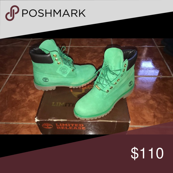 Money Green Timberland (Limited Release Edition) Mint